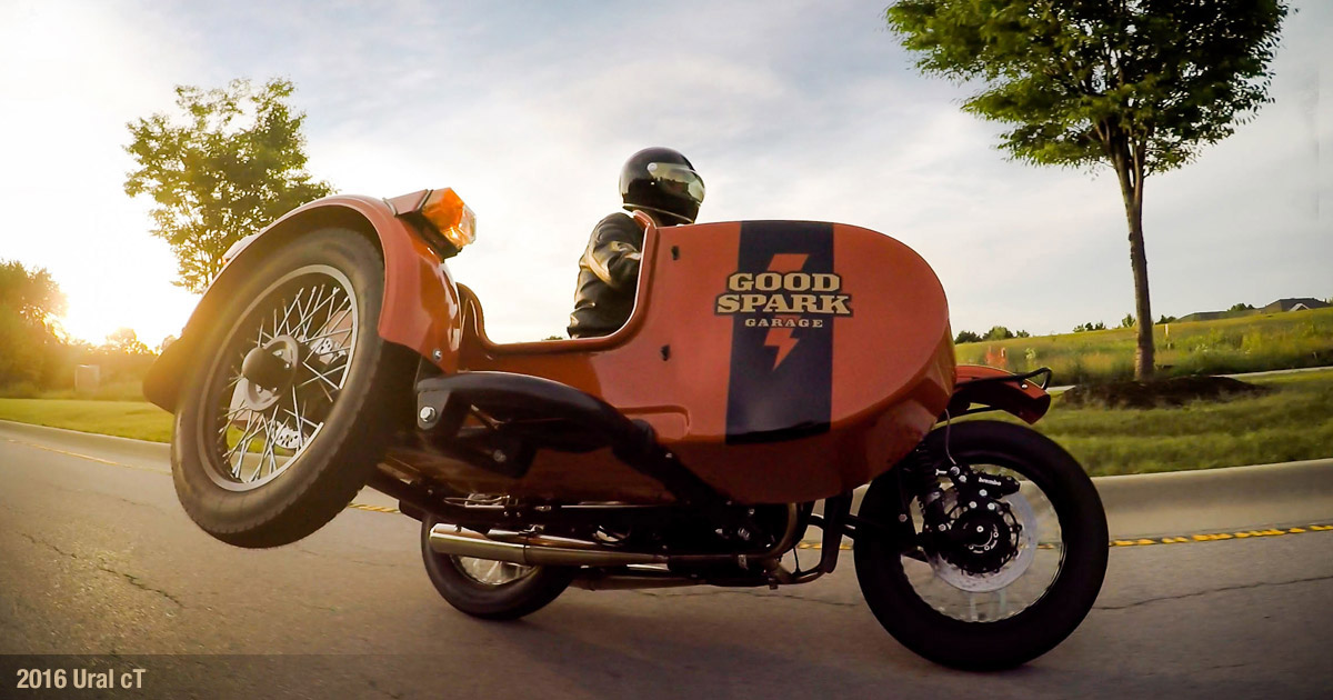 Flying The Chair In The GSG Ural CT