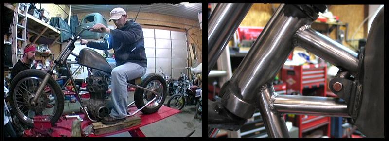 Flying W Wilkinson Bros Shop Bike Build
