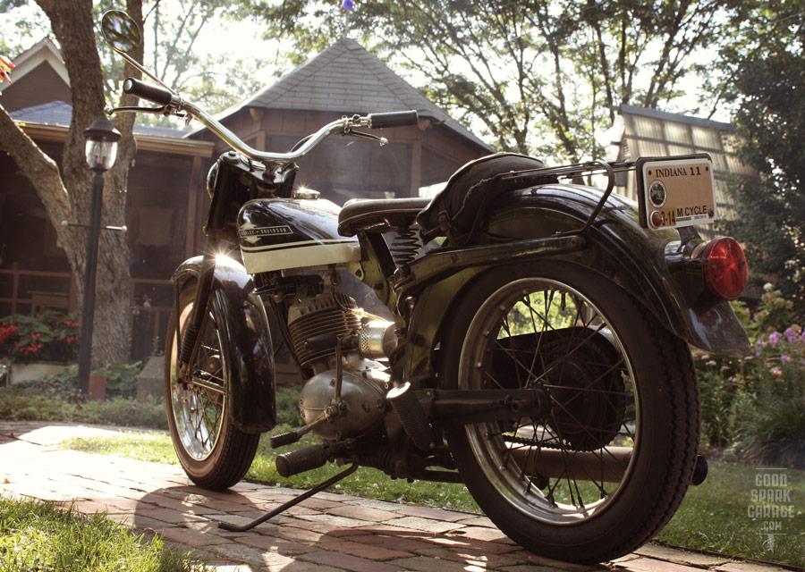 Chris Sickels 65 Harley Davidson Pacer