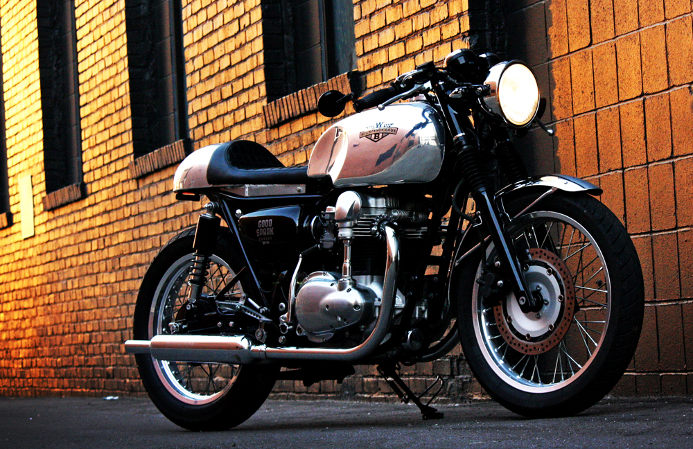 Wilkinson Bros W650 Cafe Racer