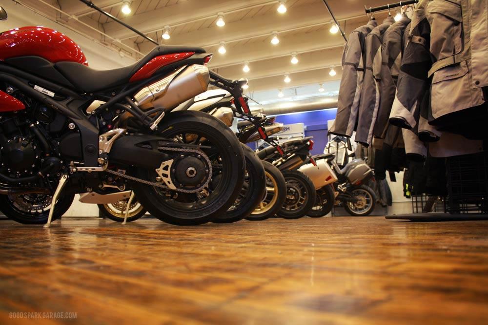 Motorcycle Seat Garage Stools