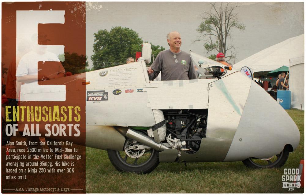 AMA Vintage Motorcycle Days E