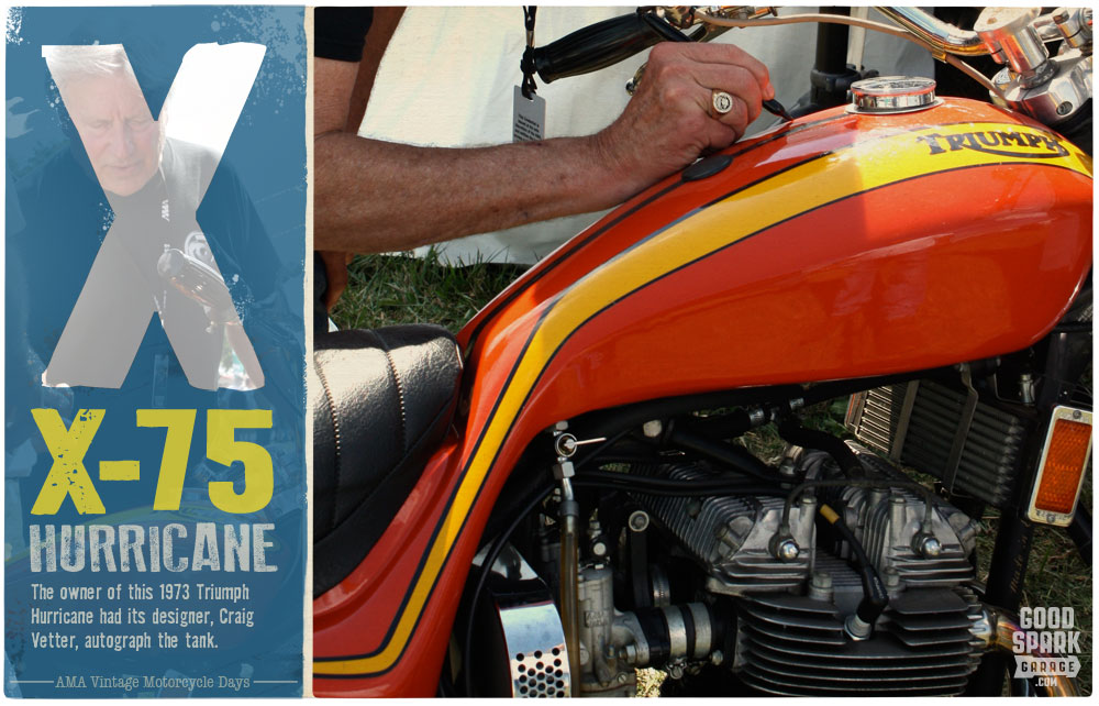 AMA Vintage Motorcycle Days X