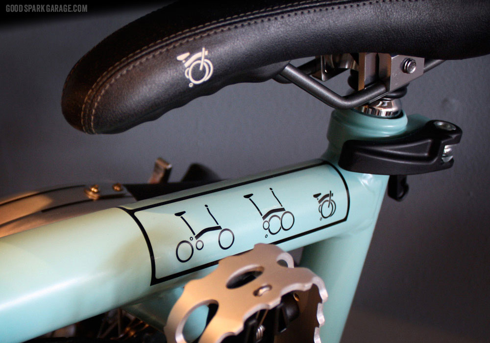 Fold up bike at National Moto + Cycle
