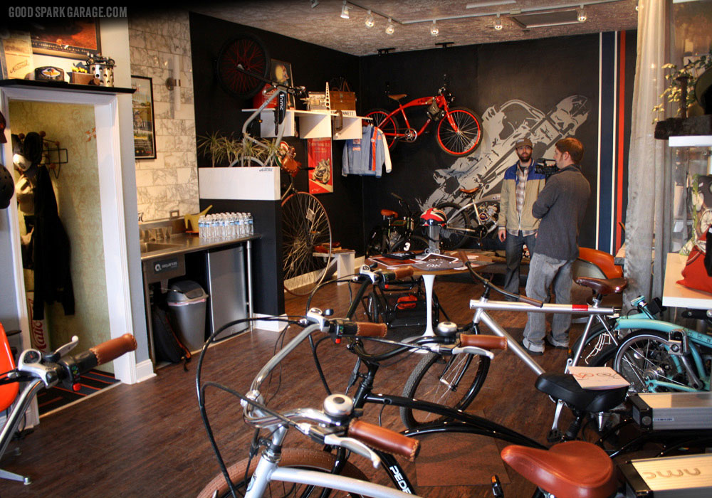 The shop at National Moto+Cycle Co.