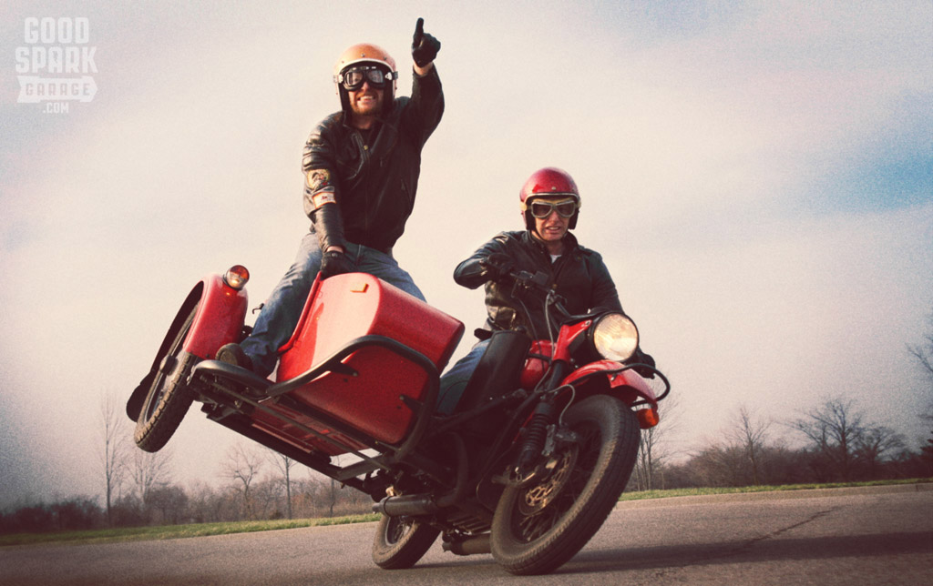 Wilkinson Brothers and Their Ural Sidecar