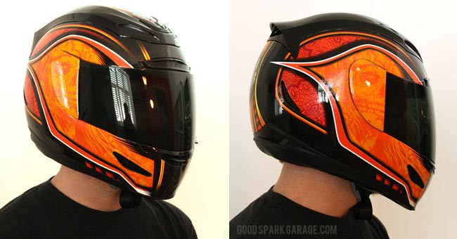 Icon Airmada Medicine Man Helmet