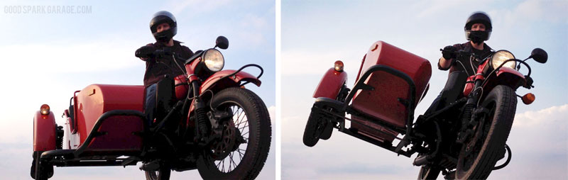 Wilkinson Brothers' Ural Red October Sidecar