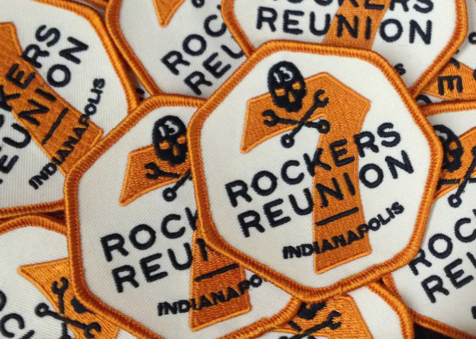 Rockers Reunion Indy Patches 2013