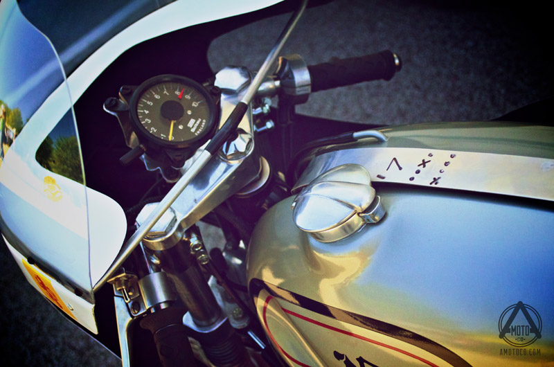 AMotoCo - Norton Race Bike