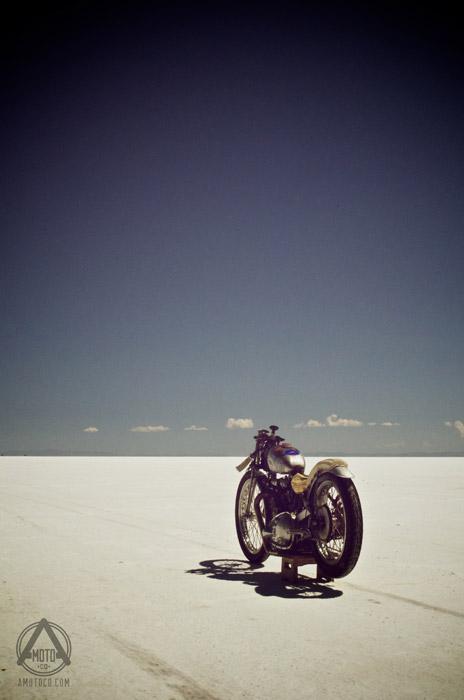 AMotoCo - Triumph Bonneville Salt Flat Racer