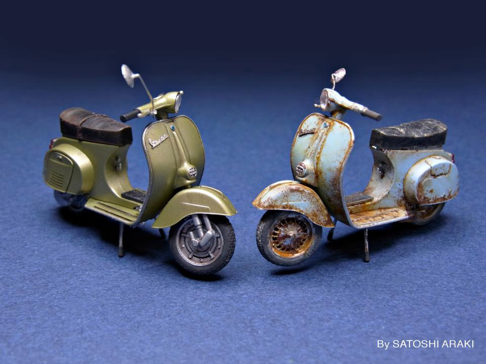 Vespa 125 Models 1/35 Scale