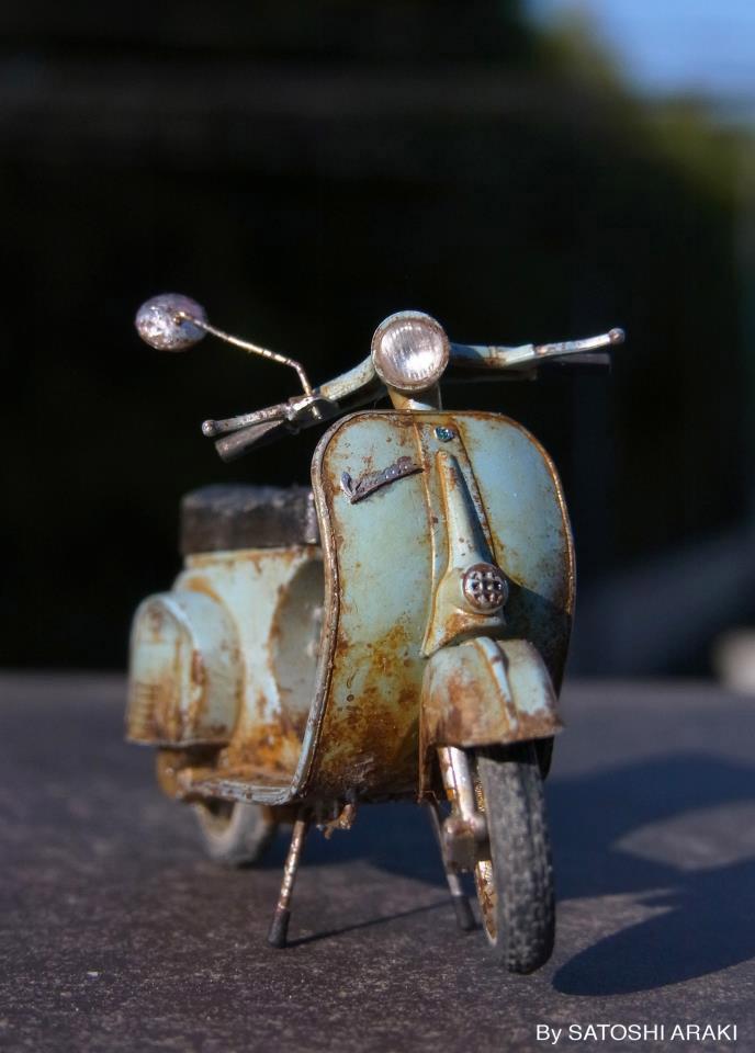 Rusty Vespa 125