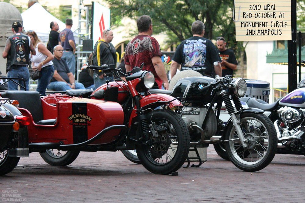 Wilkinson Bros Ural and BMW