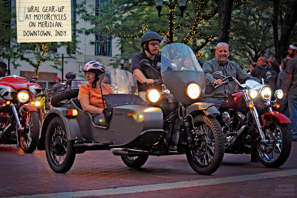 Ural Gear-Up in Indy