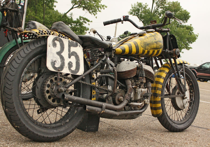 Indian Motorcycle Racer