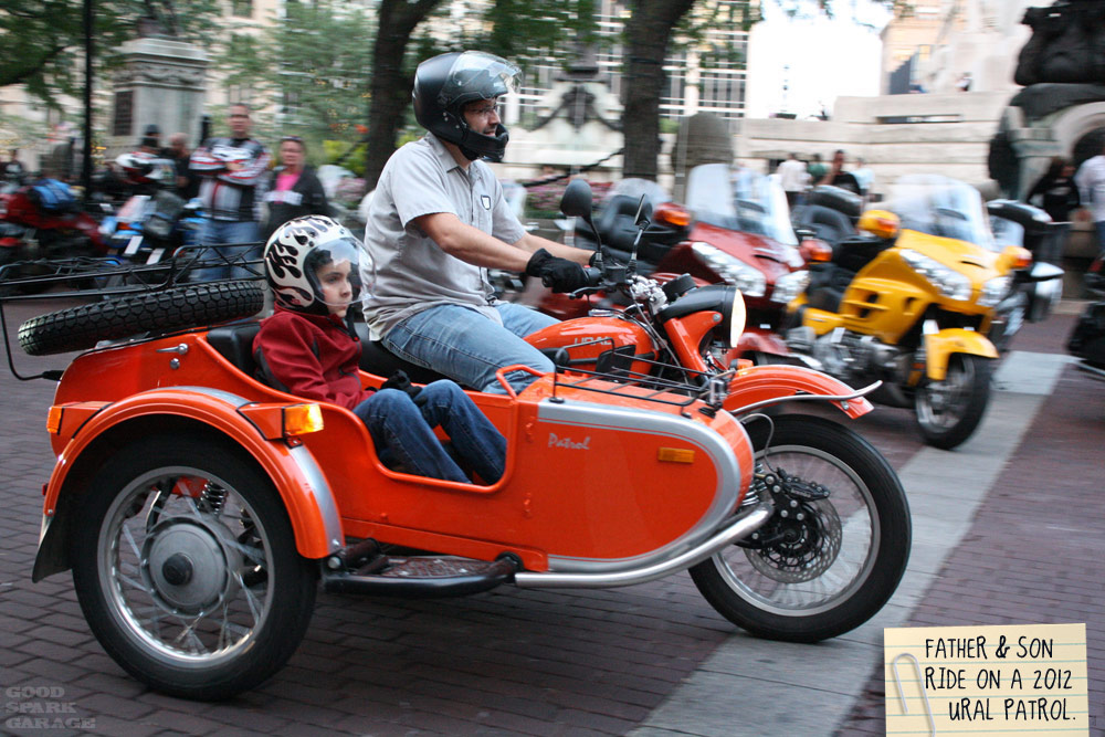Orange Ural Patrol in Indy