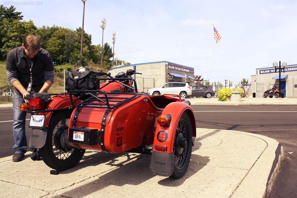Ural Red October in Indy