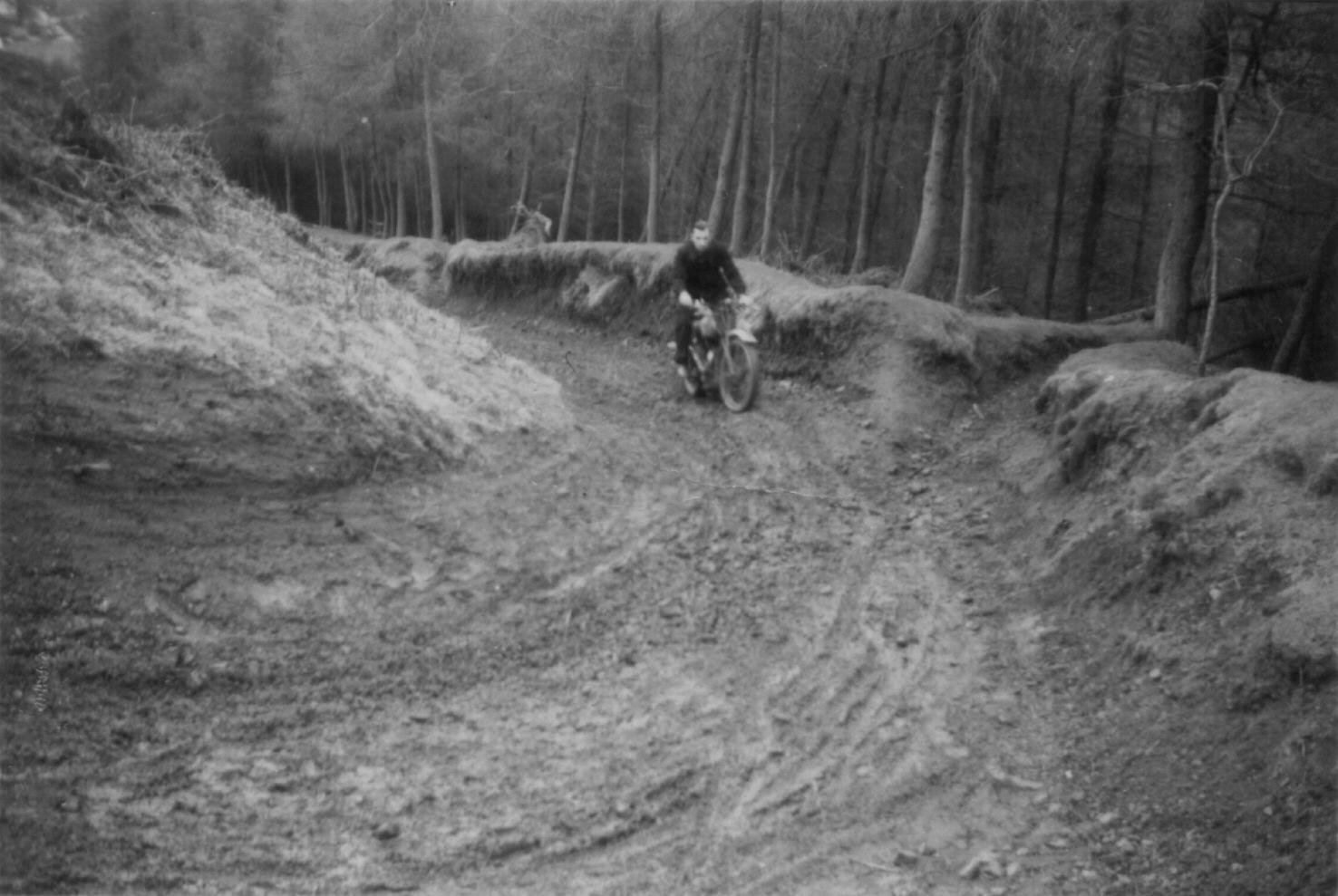 Motorcycle Racer in Wales