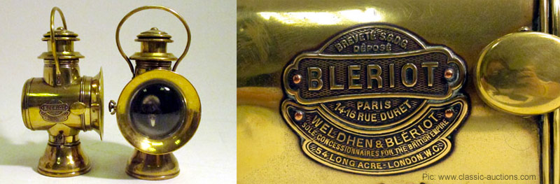 Bleriot Headlamps