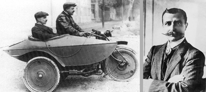 Louis Bleriot cyclecar