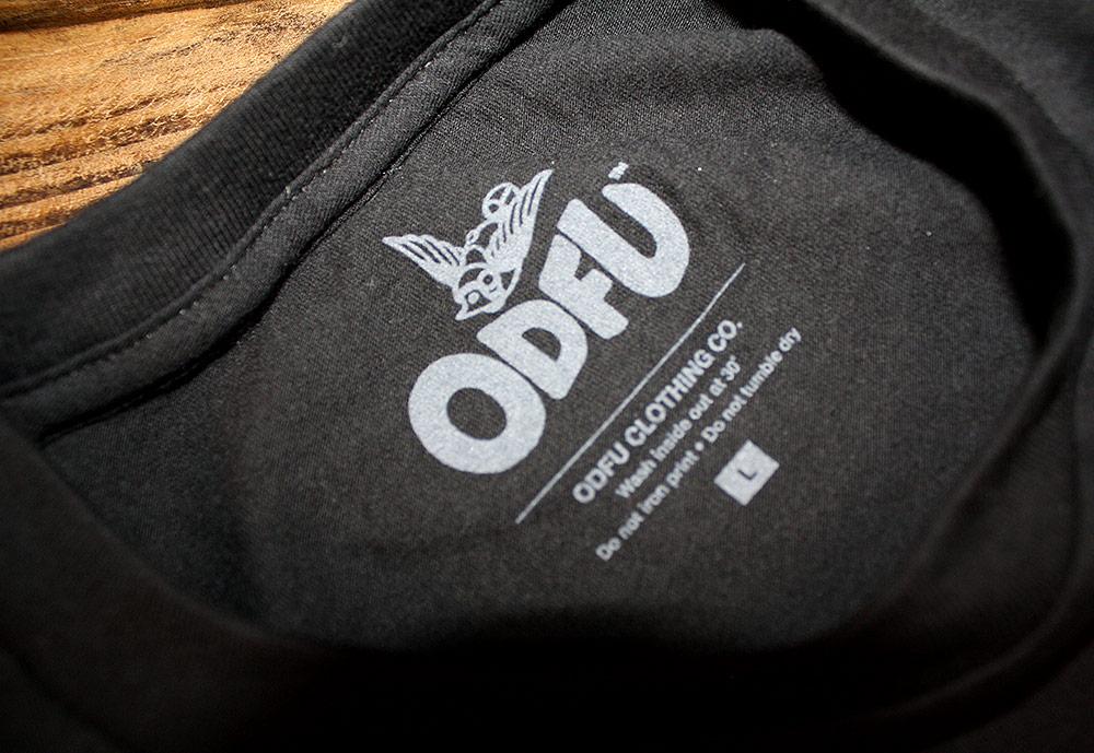 ODFU Black Tagless Tee