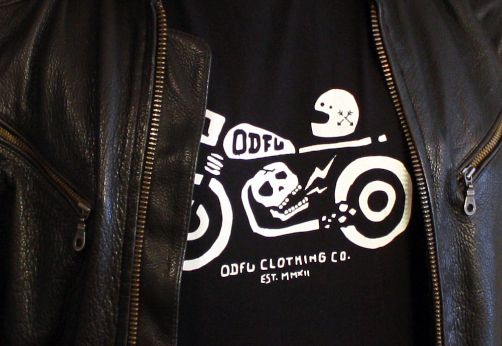 ODFU Skull And Sparks Tee