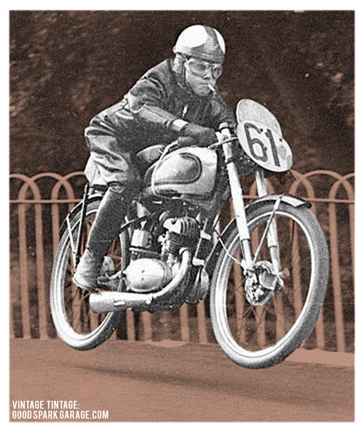 Vintage Tintage: Old-Timey Motorcycle Pictures