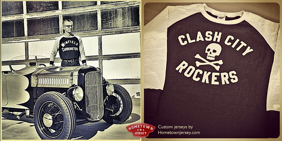 TK Smith and Rockers Jersey