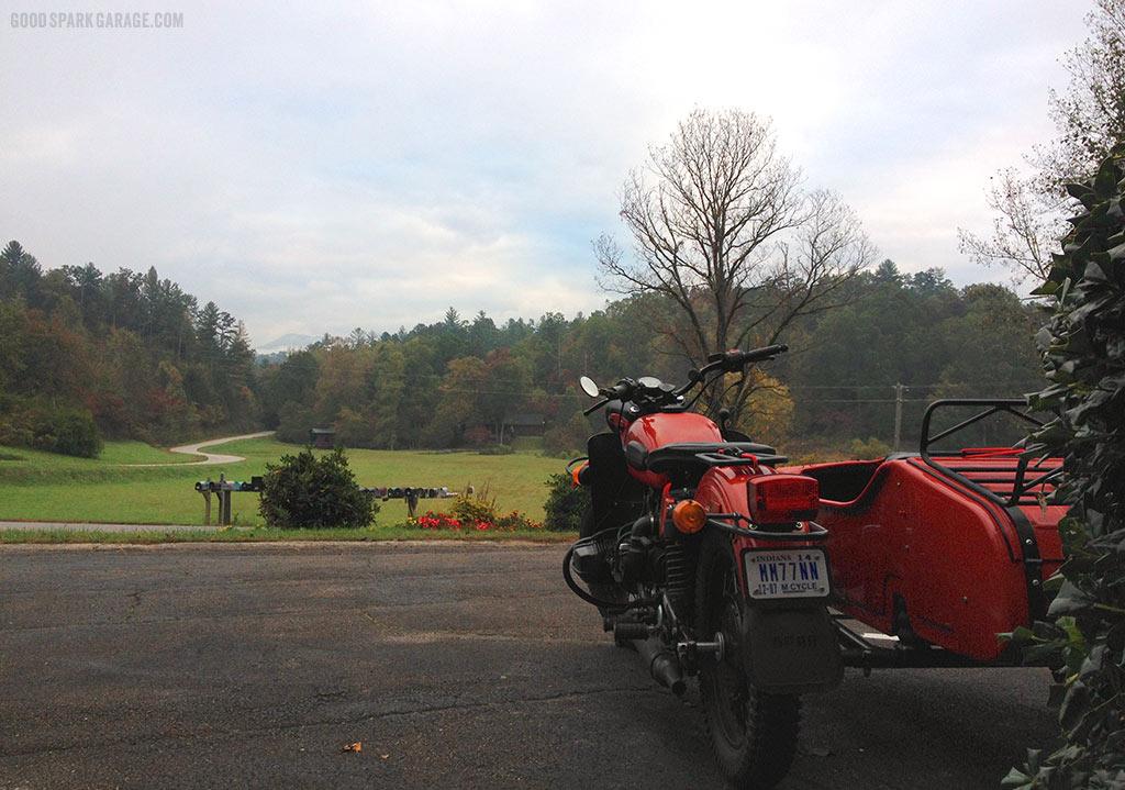 View From Tuskeegee Motel North Carolina