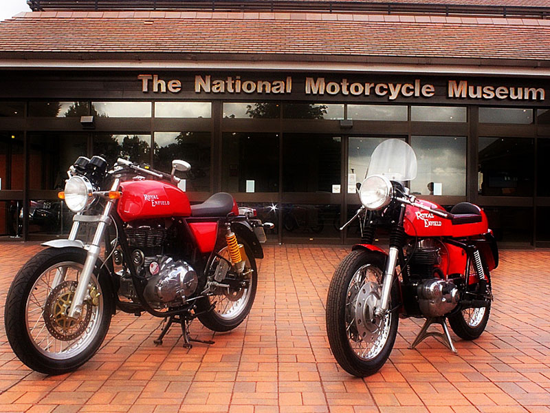 Royal Enfield Continental GT - Old and New