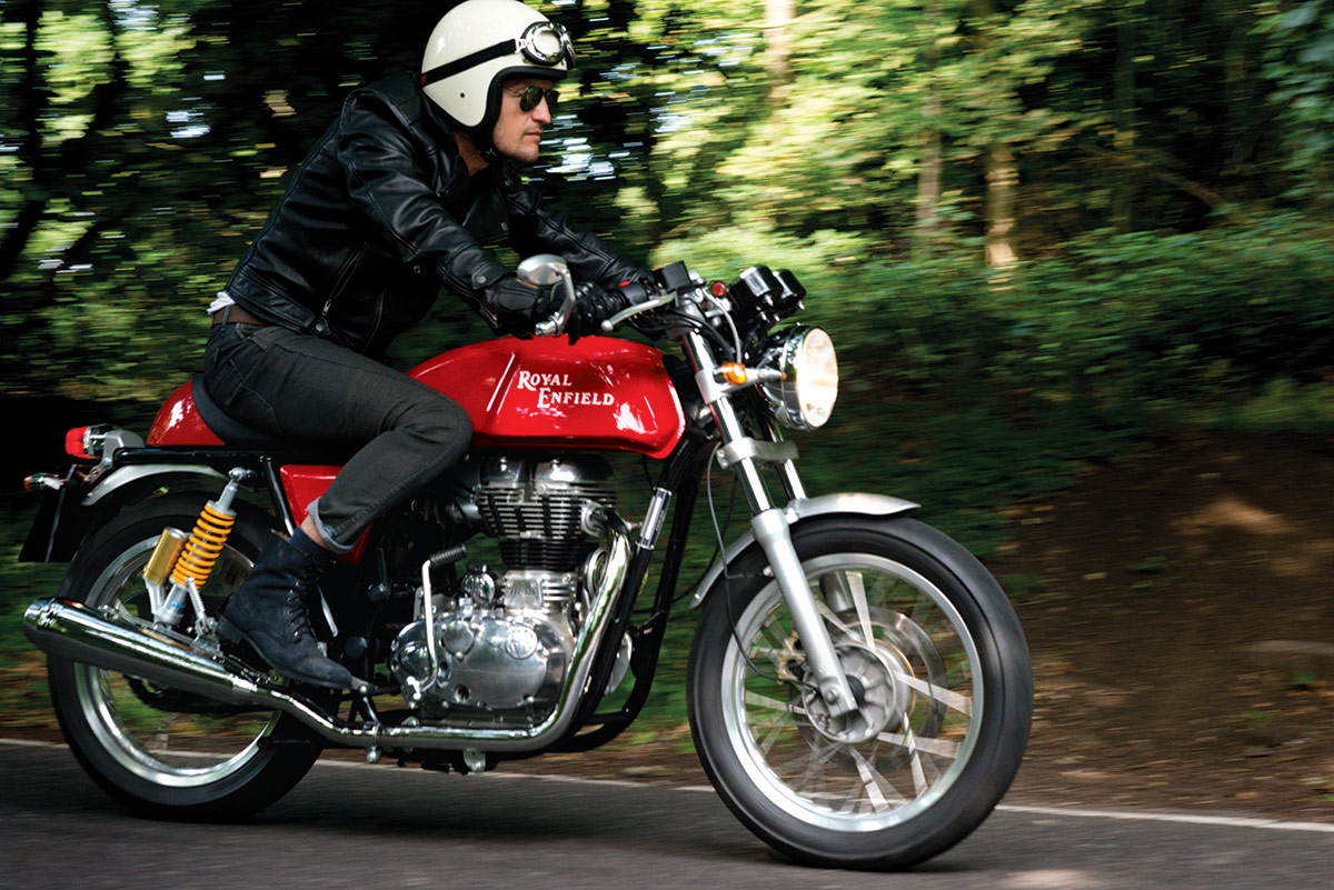 Royal Enfield Continental GT - On the Road