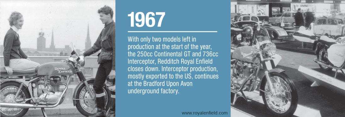 Royal Enfield History - 1967