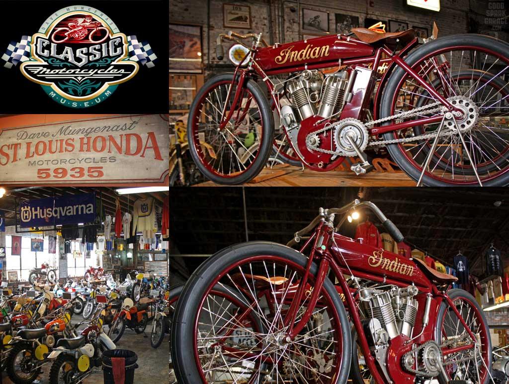 Mungenast Museum Indian BoardTrack Motorcycles