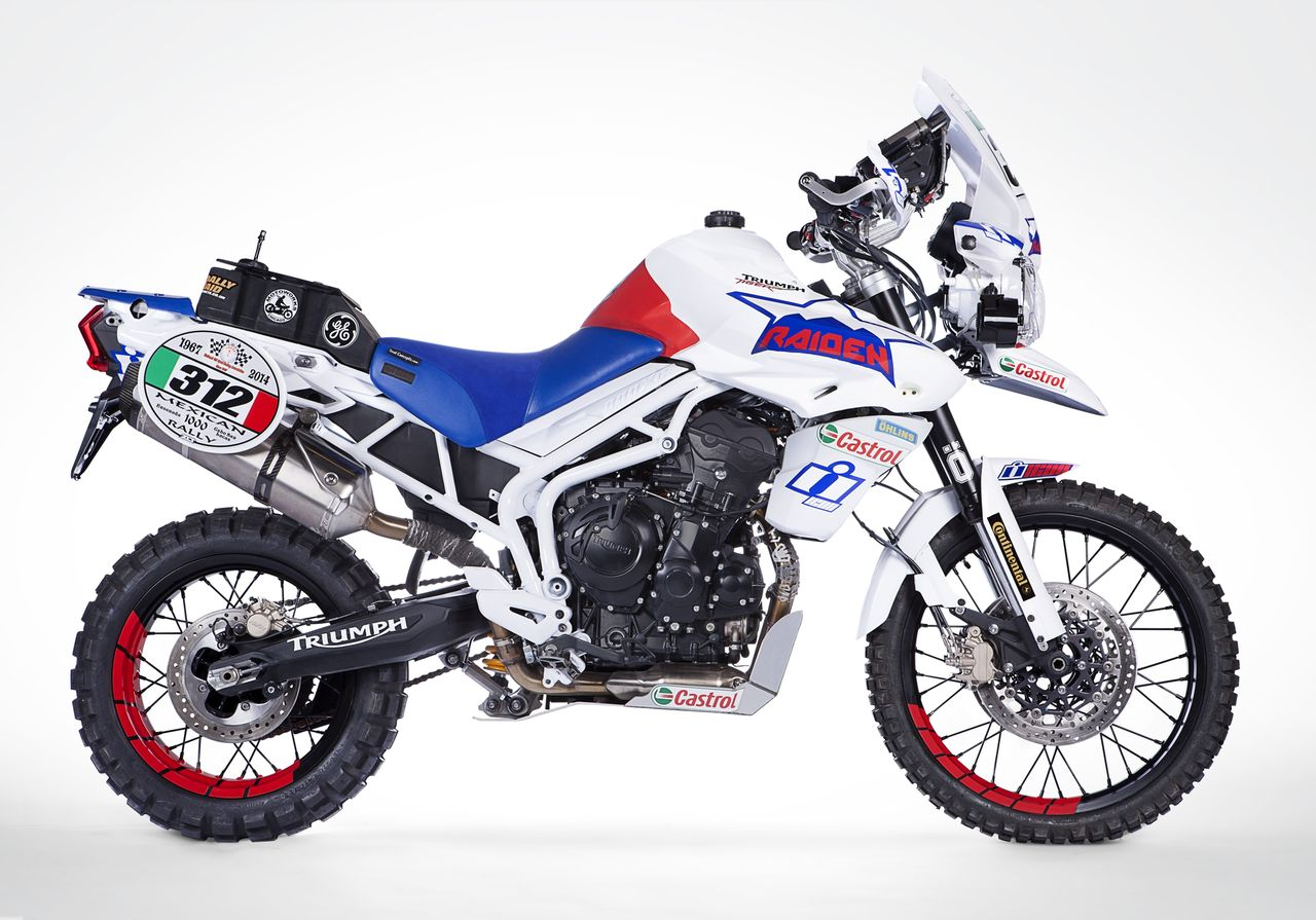 Team RAIDEN Triumph Tiger 800XC