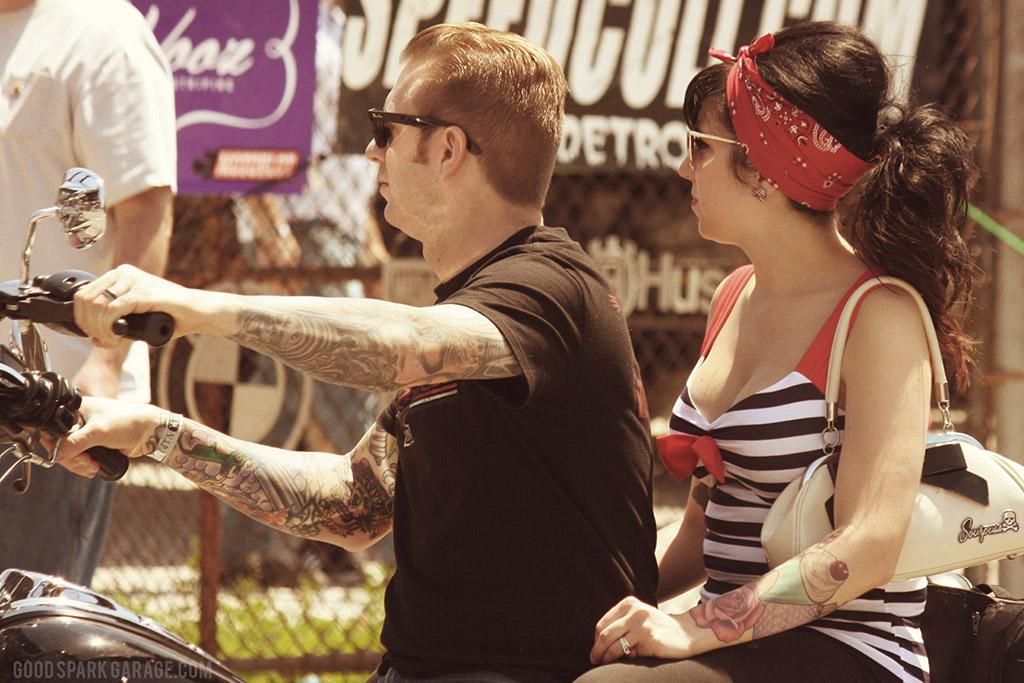 MOTOBLOT 2014 Scene - Cruising Couple