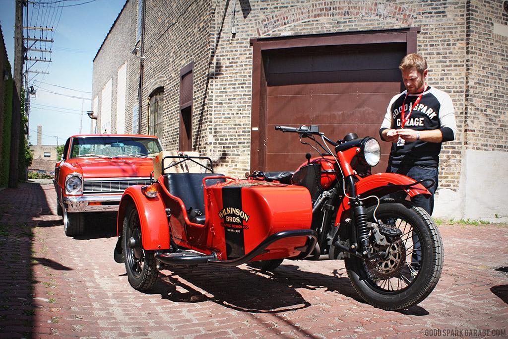MOTOBLOT 2014 Good Spark Garage - Ural