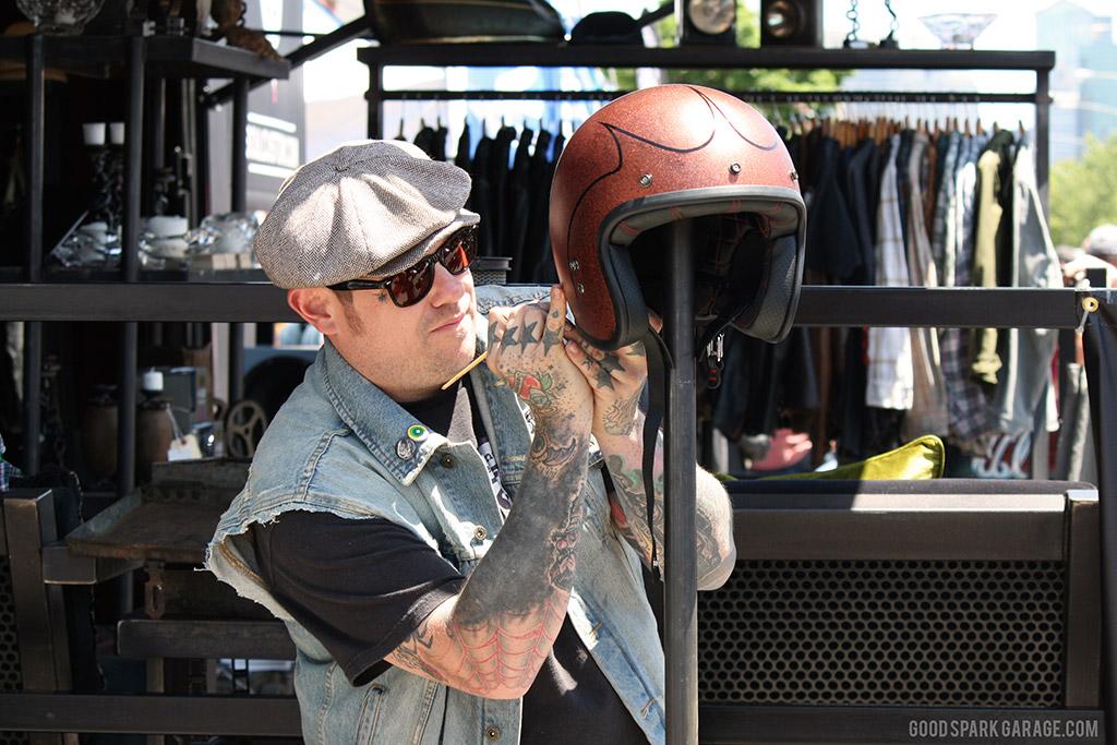 MOTOBLOT 2014 Helmet Pinstriping
