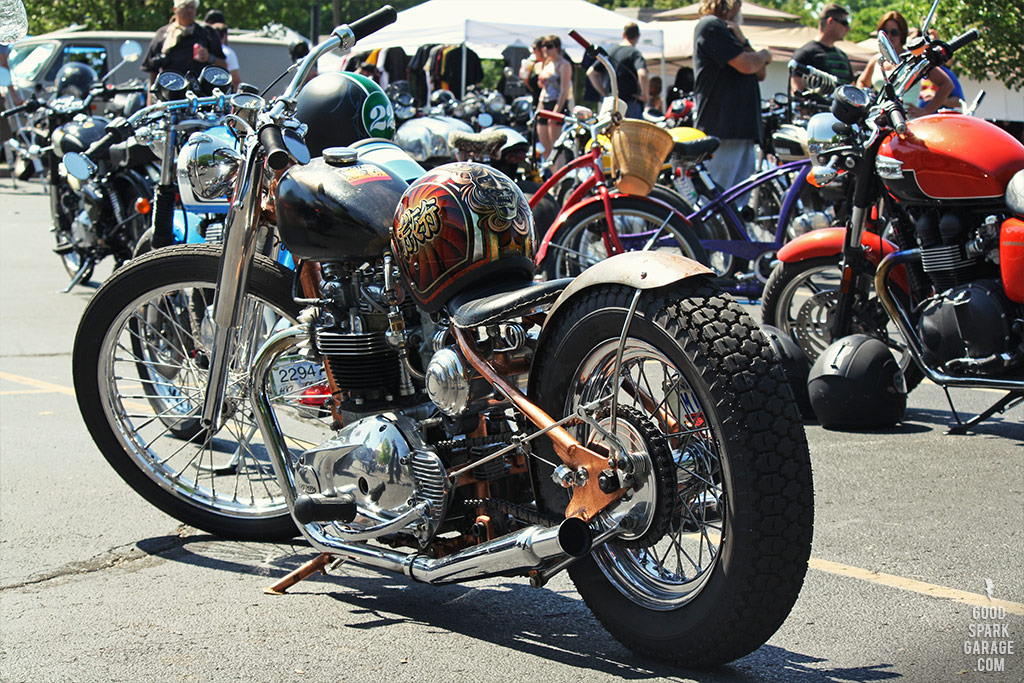 Rockers Reunion Indy - Bullseye Visual Triumph Chopper