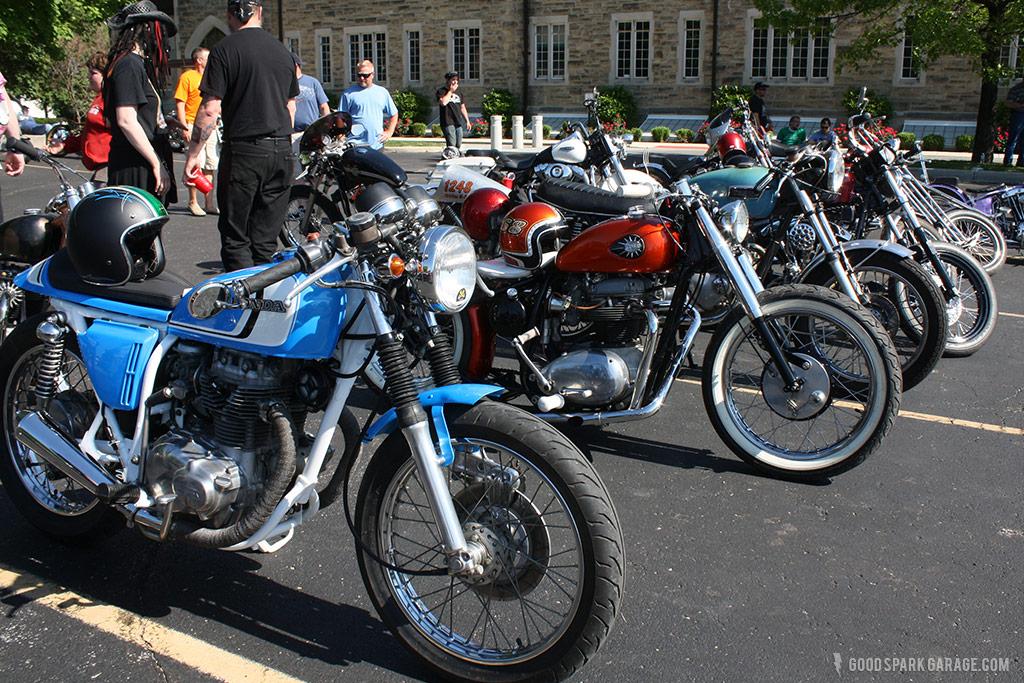 Rockers Reunion Indy bike show