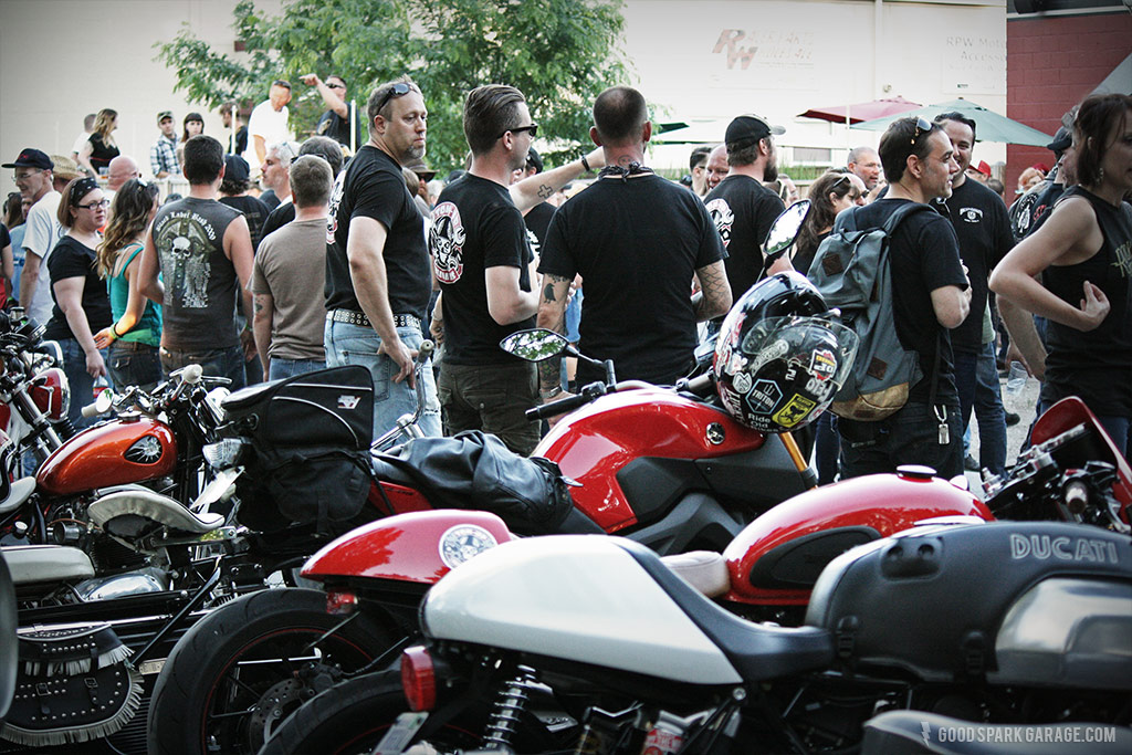 Rockers Reunion Indy crowd at Flat 12