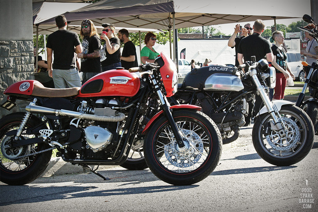Rockers Reunion Indy Modern Cafe Racers