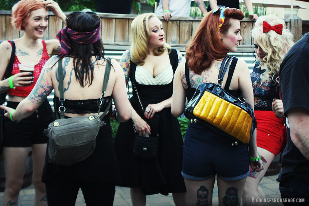 Rockers Reunion Indy  pin up girls