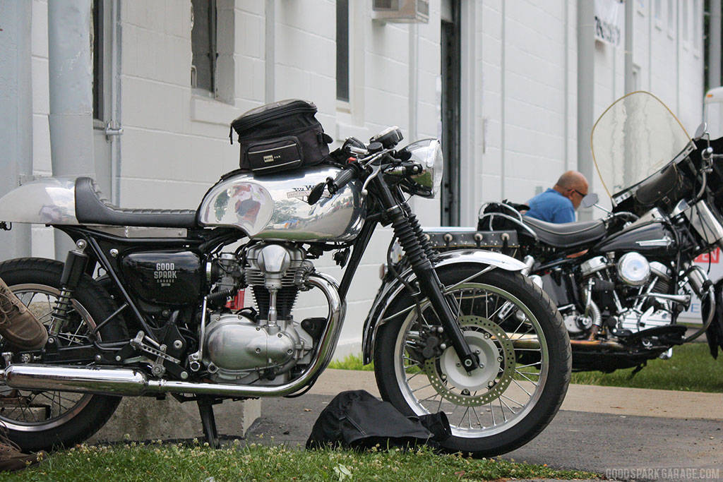Wilkinson Brothers W650 Cafe Racer