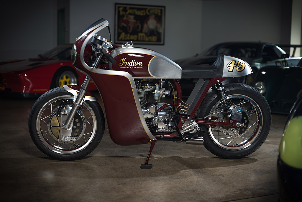 Analog Motorcycles Continental Scout