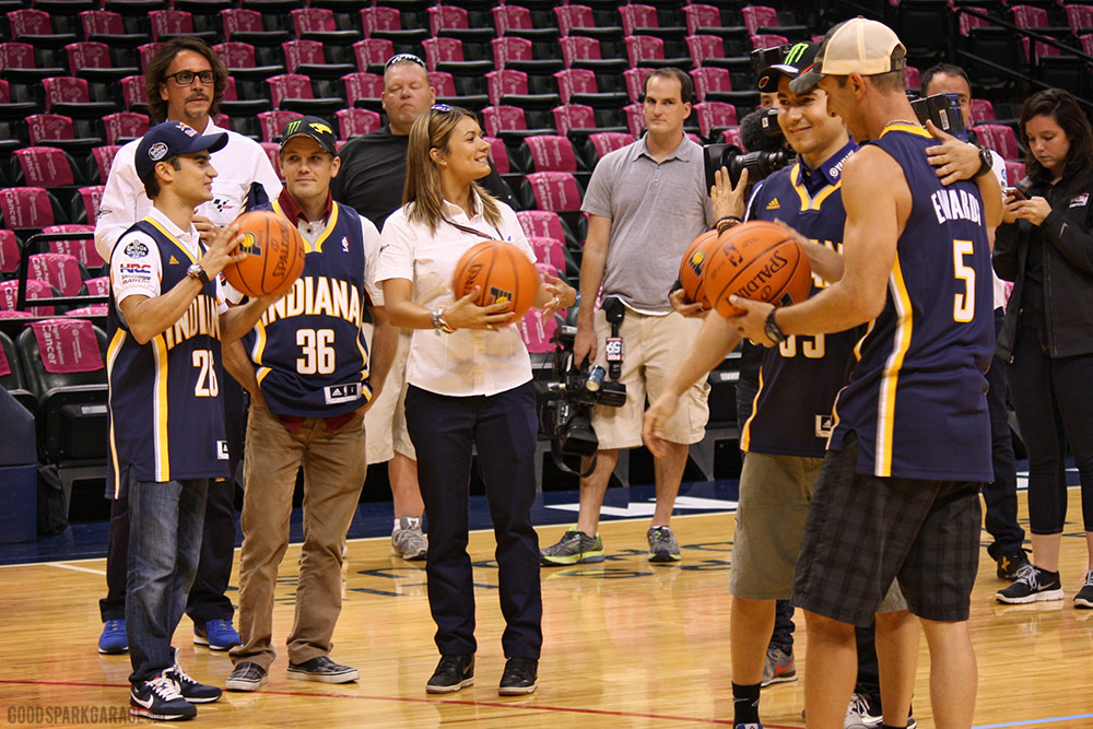 MotoGP riders Indiana Pacers