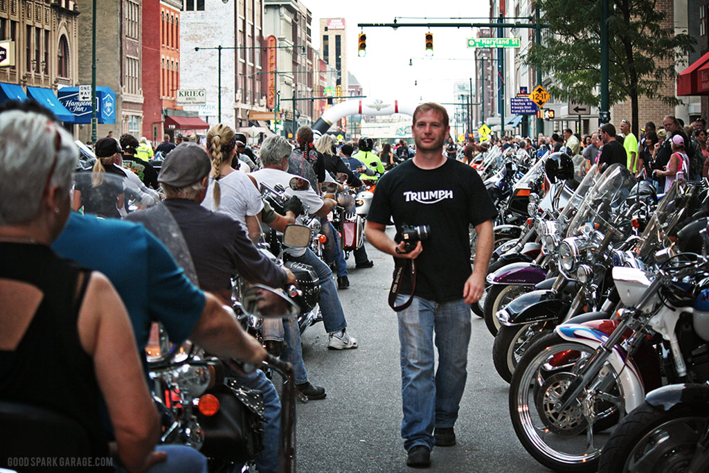 Motorcycles On Meridian Indianapolis Casey Wilkinson