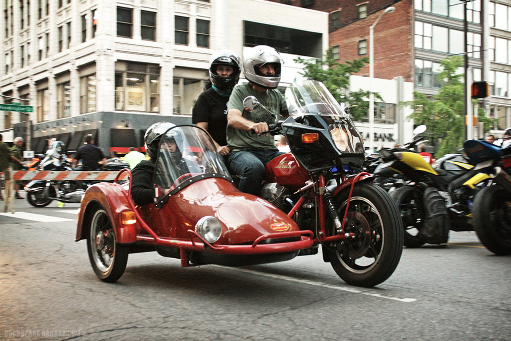 Motorcycles On Meridian Indianapolis Moto Guzzi Sidecar