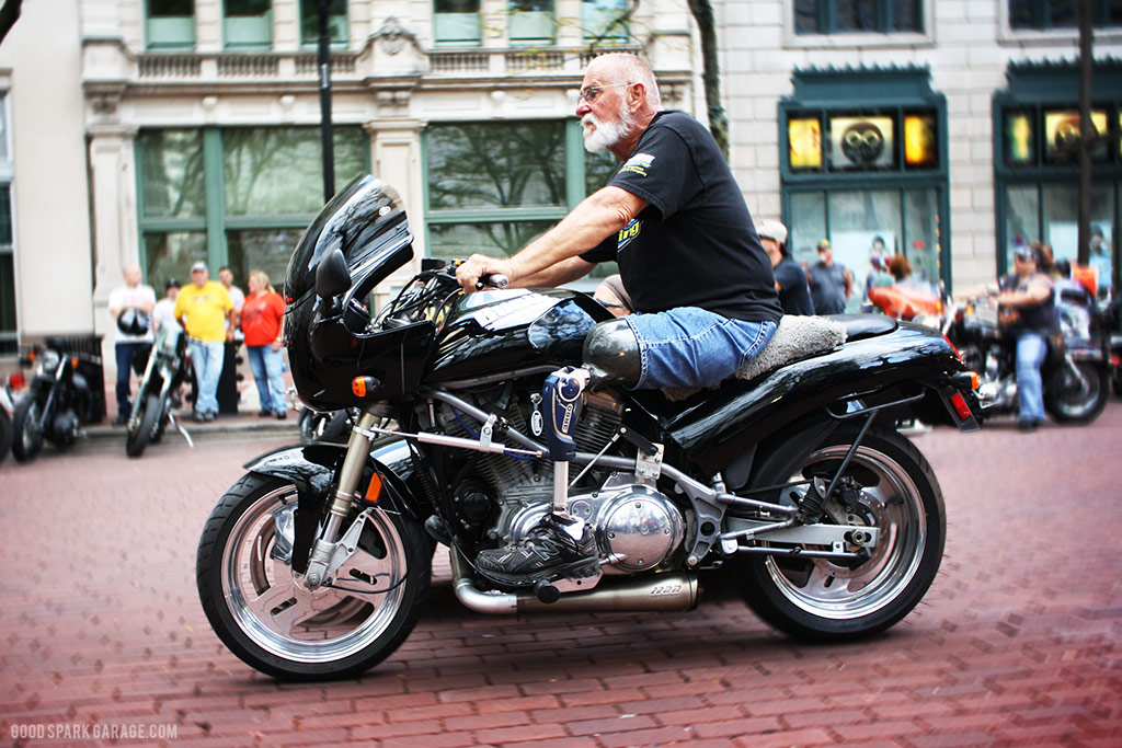 Motorcycles On Meridian Indianapolis Prosthetic