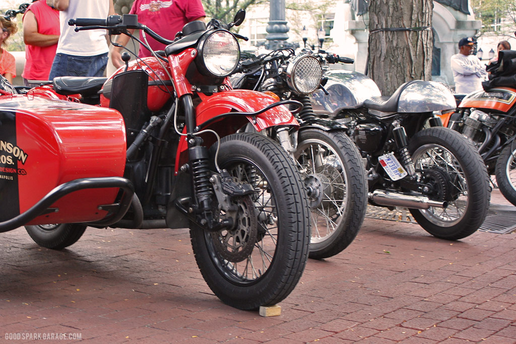 Motorcycles On Meridian Indianapolis Wilkinson Bros
